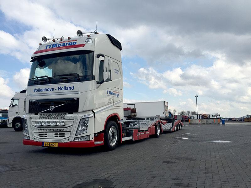 Impressie Ttm Cargo Truck Transport Vollenhove Holland